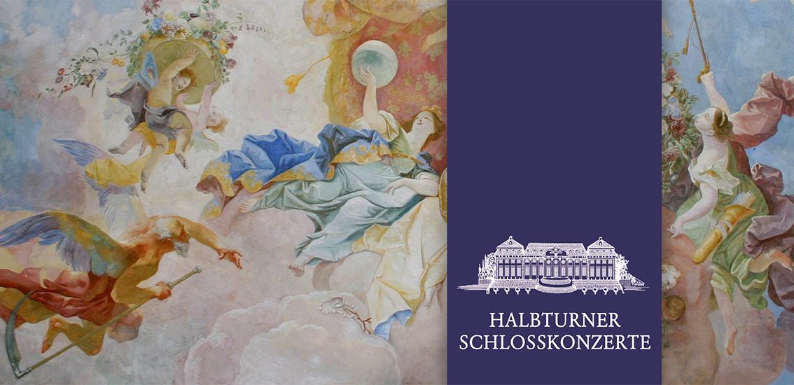 Faltkarte Halbturner Schlosskonzerte