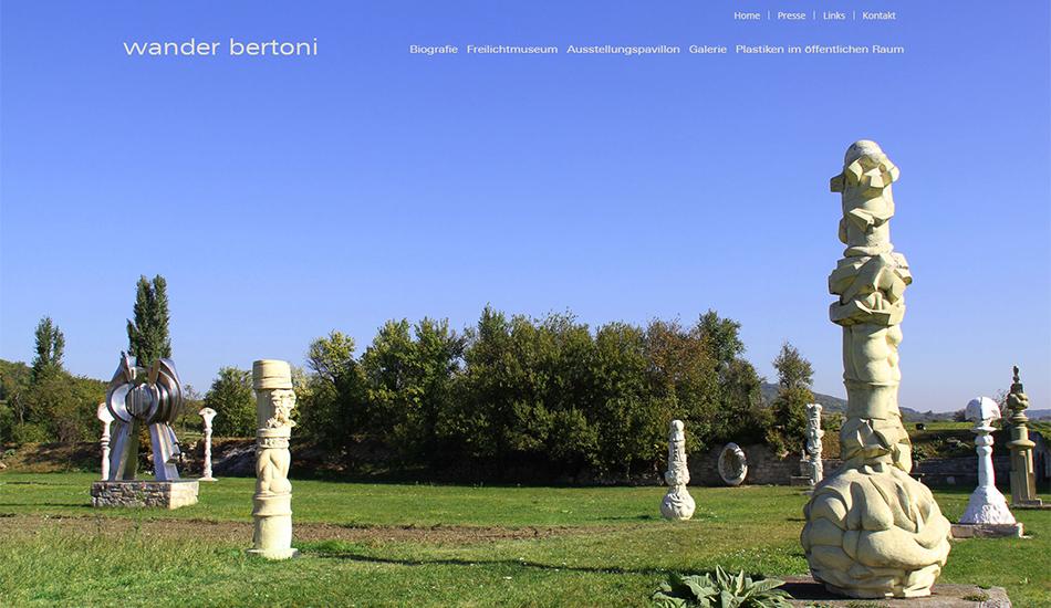 Screenshot 1 Website Wander Bertoni