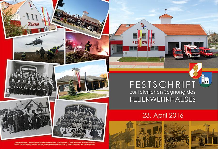 Festschrift Freiwillige Feuerwehr Halbturn