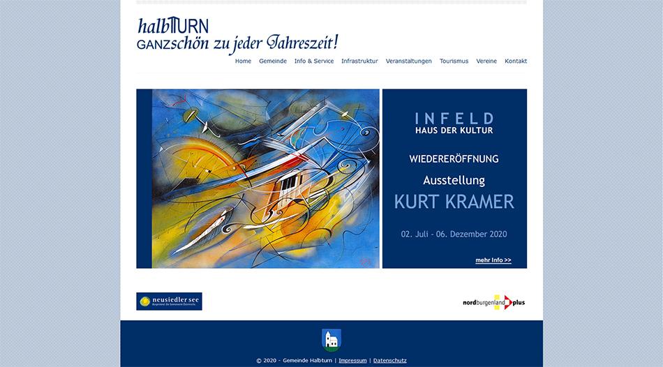 Gemeinde Halbturn Website Startseite