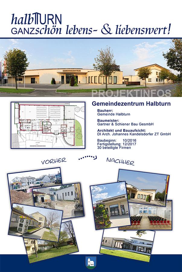 Gemeindezentrum Halbturn Tafel 1