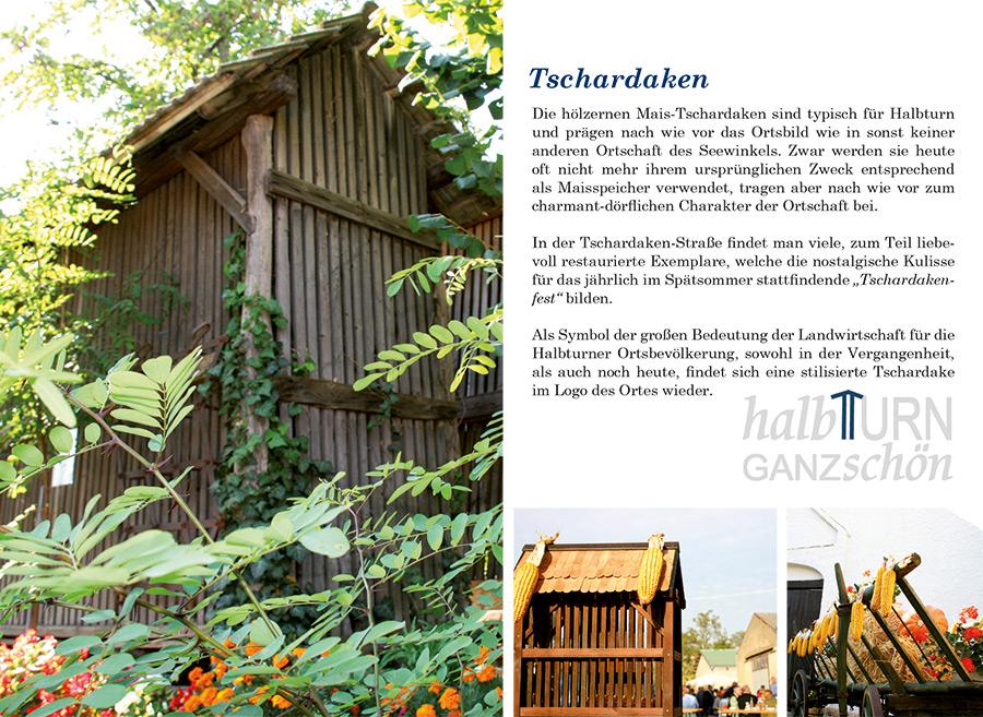 Ortsprospekt Gemeinde Halbturn Seite Tschardaken