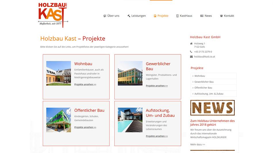 Kast Website Screen 2