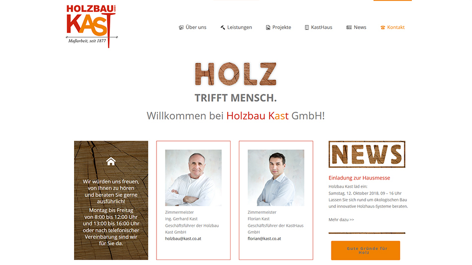 Kast Website Screen 3