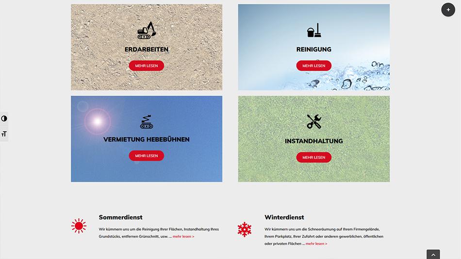 Kolb Website Screen 1