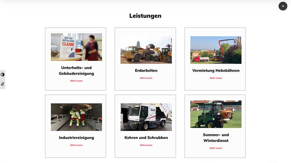 Kolb Website Screen 2