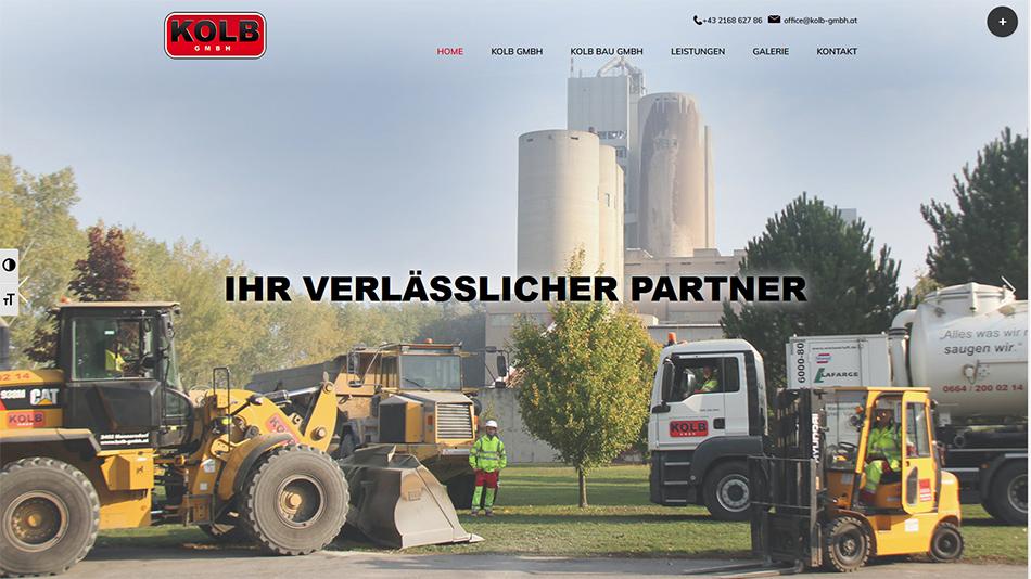 Kolb Website Startseite