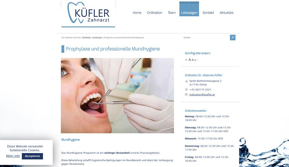 Dr. Kuefler Website