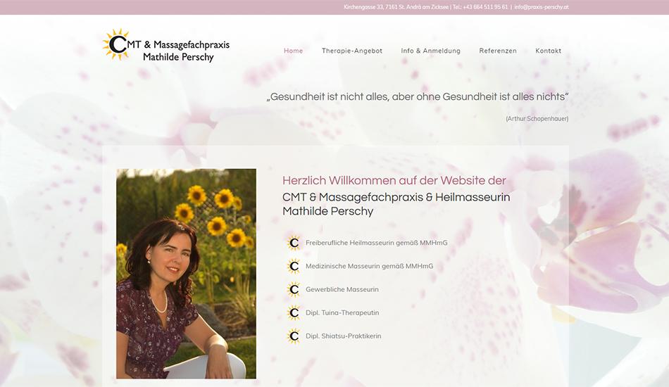 Praxis Perschy Website