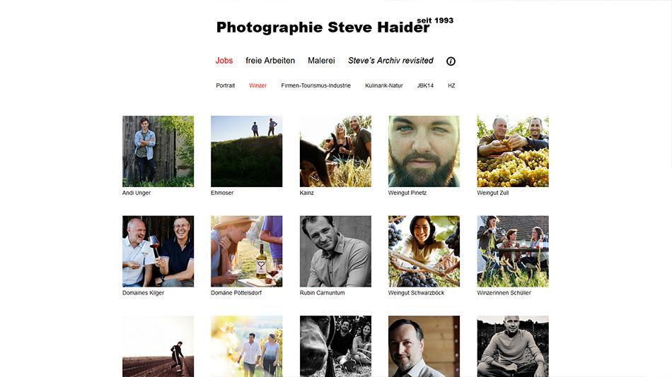 Steve Haider Website