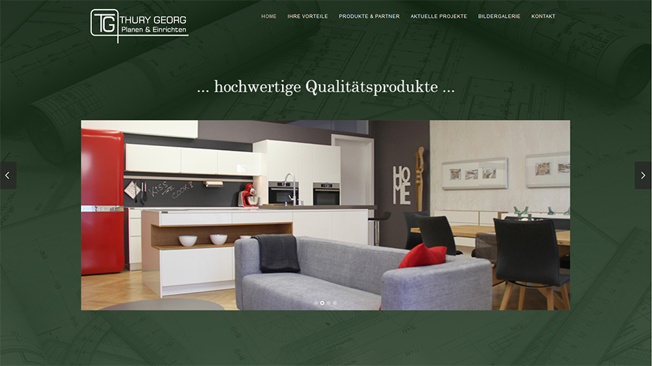 Thury Georg Website Startseite