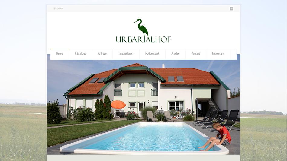 Urbarialhof Website Startseite