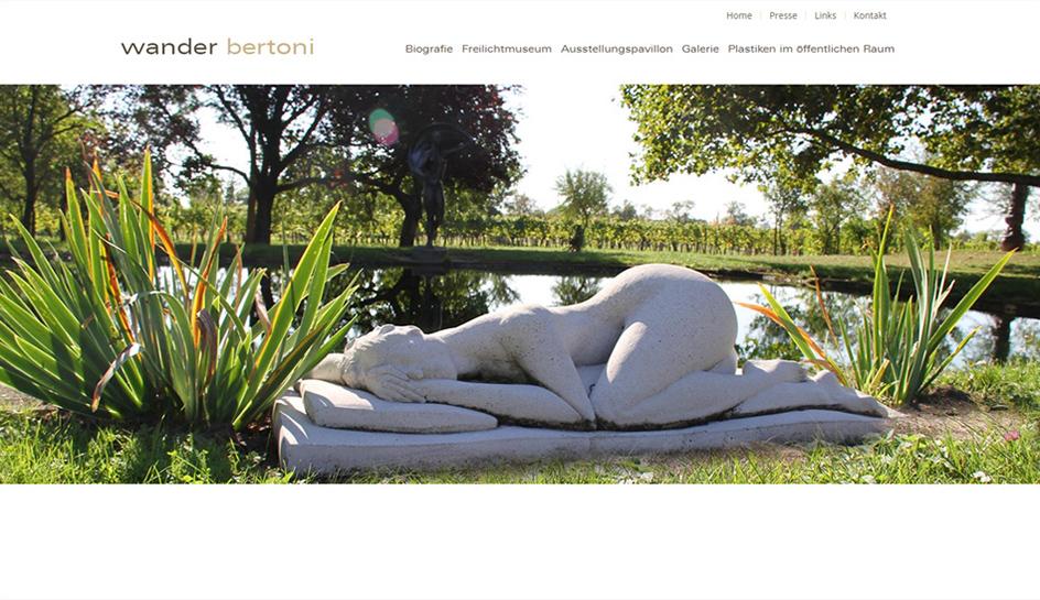Screenshot 2 Website Wander Bertoni