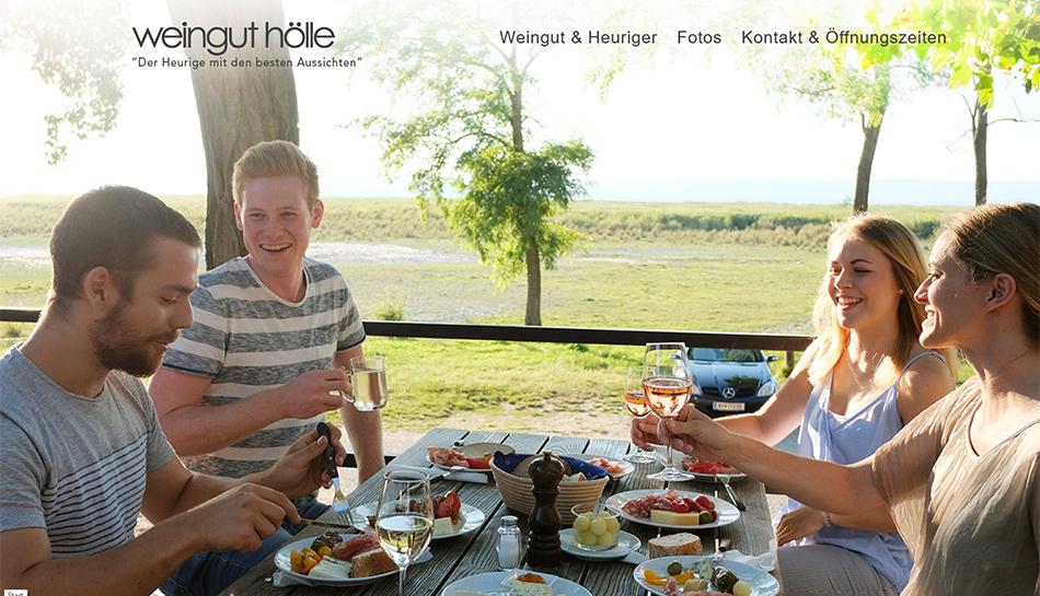 Weingut - Heuriger Hölle Website Startseite
