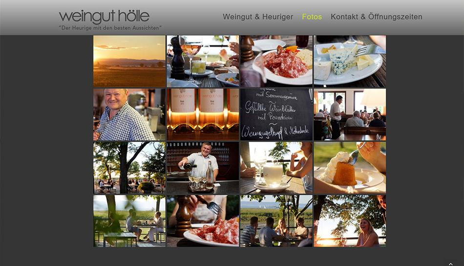 Weingut - Heuriger Hölle Website