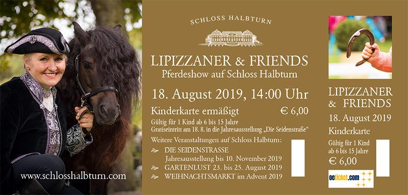 Schloss Halbturn Eintrittskarten Lipizzaner 2