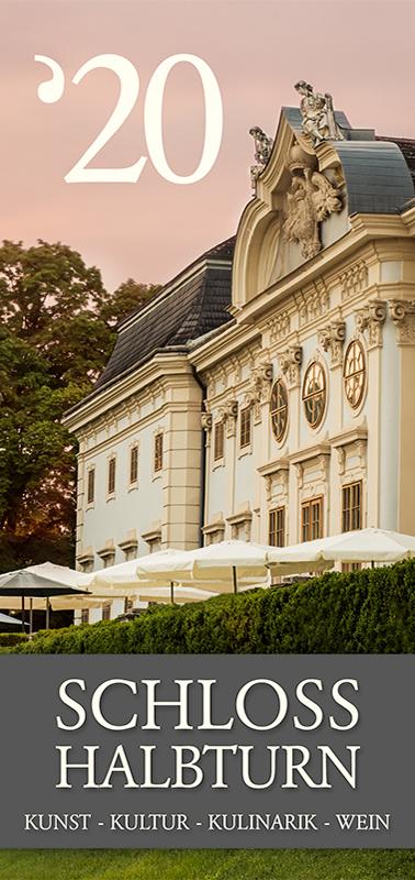 Schloss Halbturn Prospekt Cover