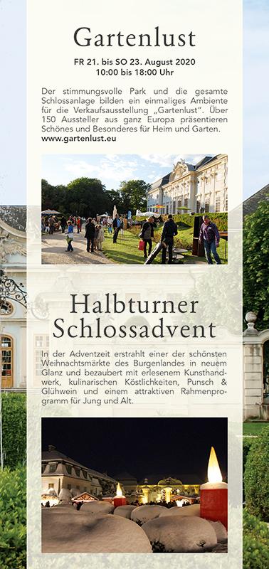 Schloss Halbturn Prospekt Seite Gartenlust