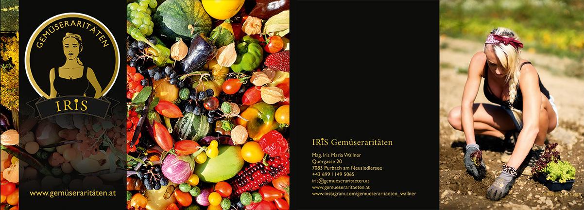 IRiS Gemüseraritäten Folder außen