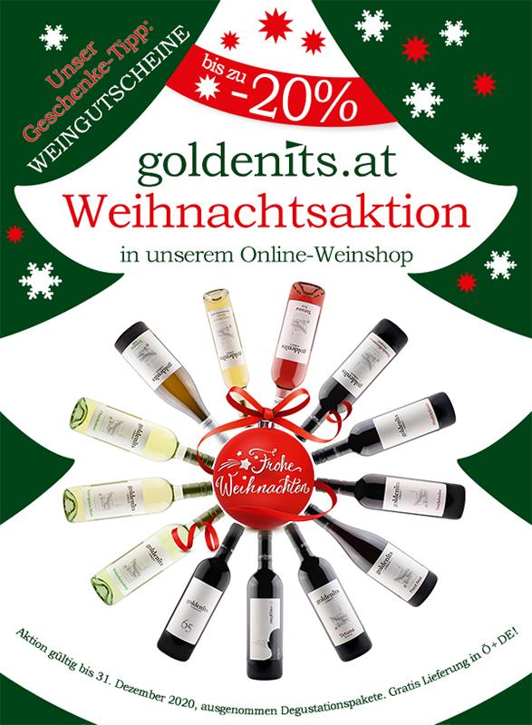 Goldenits Robert Shoppromotion Weihnachten 2020