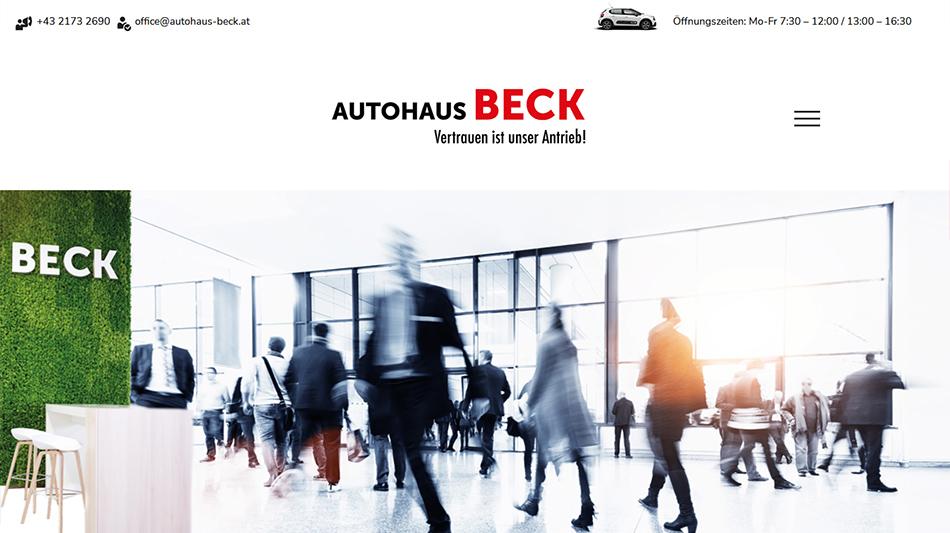 Autohaus Beck Startseite