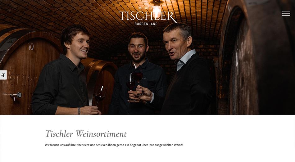 Weingut Tischler Screen 2